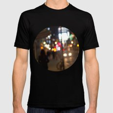 people are beautiful Mens Fitted Tee MEDIUM Black