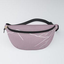 Mountains and Forest at Dusk Fanny Pack