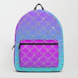 Gradient Mermaid Scales Backpack