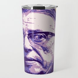 Jean-Paul Sartre Travel Mug