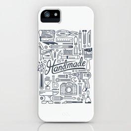 Make Handmade - White iPhone Case