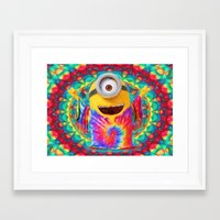 minion Framed Art Prints featuring Minion by DisPrints