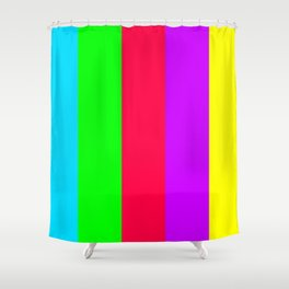 Neon Mix #1 Shower Curtain