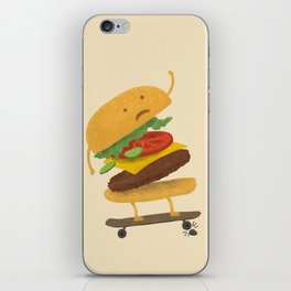 Burger Wipe-out iPhone Skin