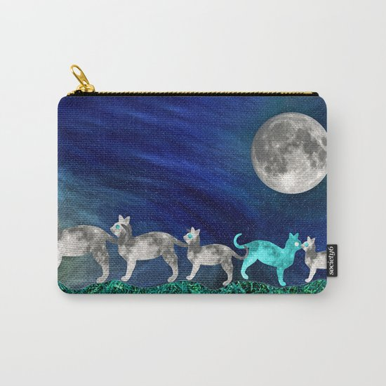 MOON CATS Carry-All Pouch