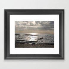 my beach Framed Art Print