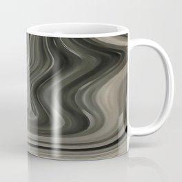 Black and White Artistic Marble Background Coffee Mug