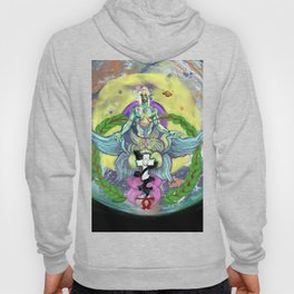 The Paths of Light and the Foundations of the Earth Hoody