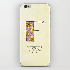 F iPhone & iPod Skin