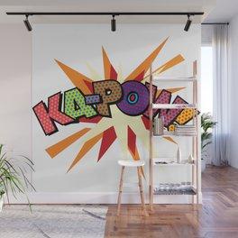 Comic Book Pop Art Sans KA-POW Wall Mural