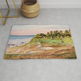Whistling Straits Golf Course 17th hole Rug