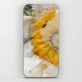 RAIN FLOWER iPhone Skin