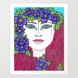 Antheia Art Print