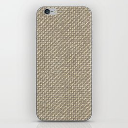 Tan Webbing iPhone Skin