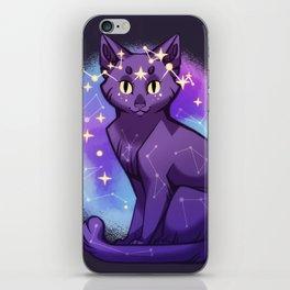 Starry Cat iPhone Skin