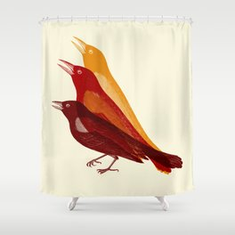 bad tweet Shower Curtain