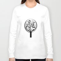 tree of life Long Sleeve T-shirts featuring Life Tree by Frivolous Designs