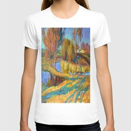 Spring in the village T-shirt