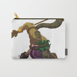 Maori warrior Carry-All Pouch