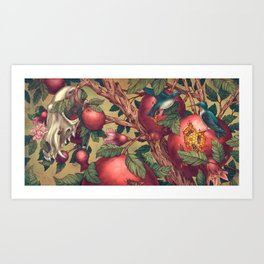 Ragged Wood Art Print