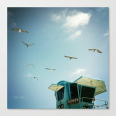 FLYING V, CARLSBAD, CA Canvas Print
