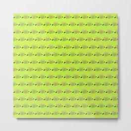 green hydrangeas Metal Print
