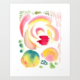 Gloriosa I 2015 I Danielle Grund Art Print