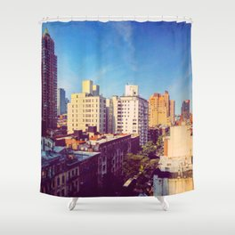 Morning in NYC Shower Curtain