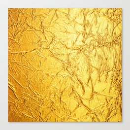texture gold Canvas Print