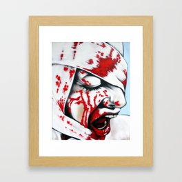 Shock Therapy Framed Art Print