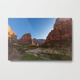 Angel's Landing Zion National Park Utah Metal Print