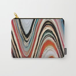 Waves of Color Carry-All Pouch