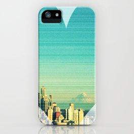 Seattle Love iPhone Case