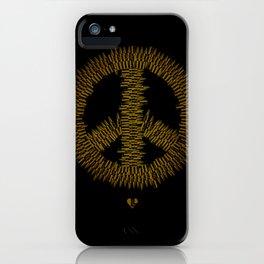 Bullet Peace iPhone Case