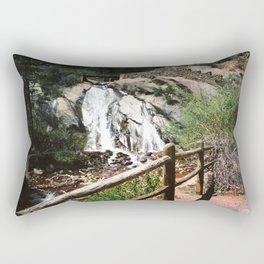 Bridge Over The Falls Rectangular Pillow