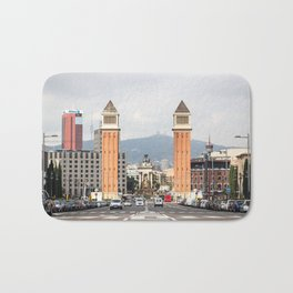 Venetian Towers Bath Mat