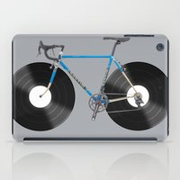 bicycle iPad Cases featuring  bicycle by mark ashkenazi