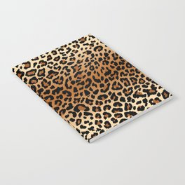 leopard pattern Notebook