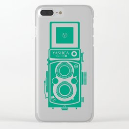 Yashica Mat 124G Camera Emerald Clear iPhone Case