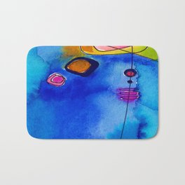 Magical Thinking No. 2C by Kathy Morton Stanion Bath Mat