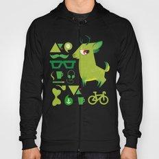Hipsdeer (green) Hoody