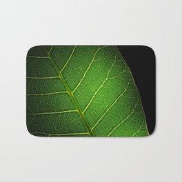 Texture leaf Bath Mat