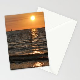 SUMMER SUNSET feeling - Baltic Sea Stationery Cards