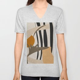 Abstract Art2 Unisex V-Neck