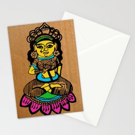 Indian goddess  Stationery Cards