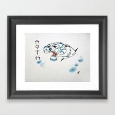 Hoth Taun Taun  Framed Art Print