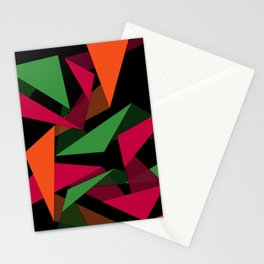 Triangular Lines Stationery Cards