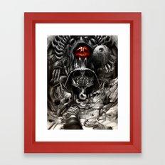 Giger Wars Framed Art Print