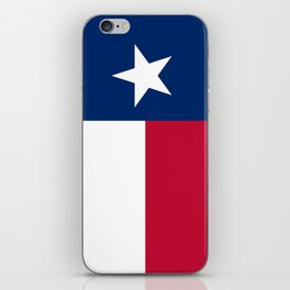 State flag of Texas iPhone Skin