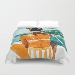 Solo Traveler Duvet Cover